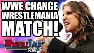 WWE CHANGE WrestleMania 34 Match After FAN OUTRAGE! | WrestleTalk News Mar. 2018