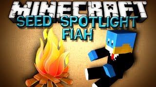 Minecraft Seed Spotlight - FIAH!! JUNGLES AND HILLS!!