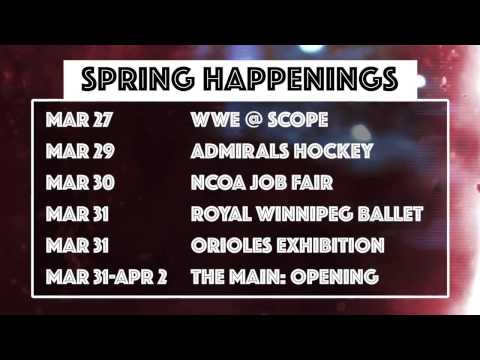 Spring Happenings: March 27 - April 2