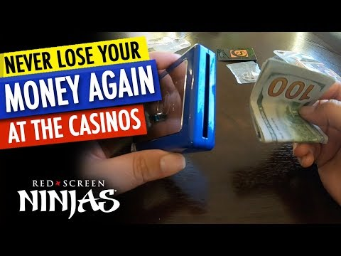 NEVER LOSE YOUR MONEY AGAIN AT THE CASINOS WITH THE WINNERS BANK 200!