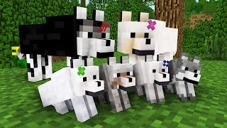 Video WOLF LIFE MOVIE | Cubic Minecraft Animations | All Episodes + BONUS MP3, 3GP, MP4, WEBM, AVI, FLV Agustus 2018