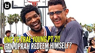 OSN vs Trae Young Round 2! Oprah's Revenge? 3 Point Contest Round 2.. BIL All American Weekend