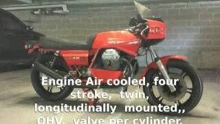 9. Moto Guzzi Le Mans CX 100  Info Details Top Speed Dealers Specification Engine motorbike
