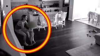 Video Babysitter Hears Noise Upstairs So Dad Checks Hidden Camera And Captures A Nightmare In His Kitchen MP3, 3GP, MP4, WEBM, AVI, FLV Januari 2019