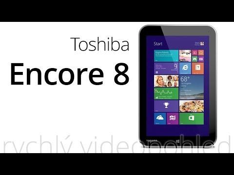 Toshiba Encore 8 (rychlý videopohled)