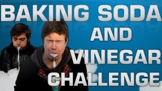 Seb la Frite - Baking Soda and Vinegar Challenge
