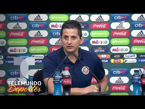 DT de Costa Rica asume la derrota a los cambios de México | Más Fútbol | Telemundo Deportes