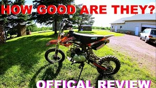 4. 2016 SSR 125 Pit Bike Review - Moto Vlog #36
