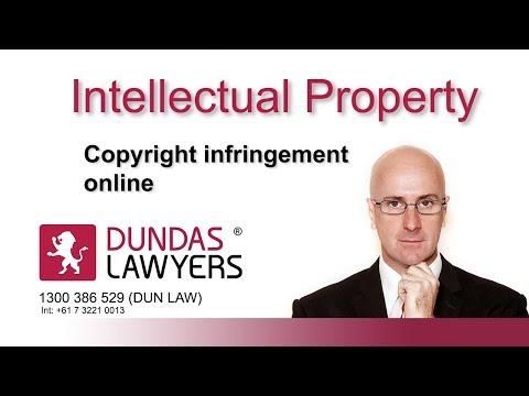 Copyright infringement online