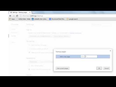 Watch 'How to make Google as my homepage on Google Chrome - YouTube'