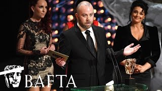 The producers and cast of Emmerdale collect the award for Soap & Continuing Drama at the BAFTA TV Awards 2017.subscribe to BAFTA ⏩ https://youtube.com/user/BAFTAonlinecheck out BAFTA Guru ⏩ https://youtube.com/user/BAFTAGuru⏬  stay up to date ⏬ Twitter: @BAFTA: https://twitter.com/BAFTA @BAFTAGuru: https://twitter.com/BAFTAGuru @BAFTAGames: https://twitter.com/BAFTAGames Facebook: https://www.facebook.com/baftaInstagram: http://instagram.com/baftasign up for our newsletter: http://guru.bafta.org/newsletter subscribe to our podcasts:iTunes: http://bit.ly/Vz84HI Soundcloud: https://soundcloud.com/baftavisit our websites to find out more:http://www.bafta.org/guruhttp://www.bafta.org