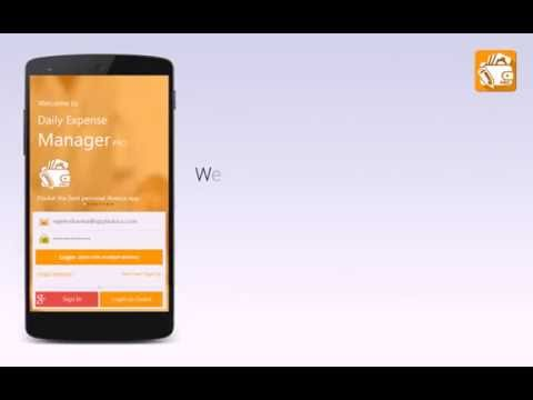 Video of Daily Expense Manager PRO