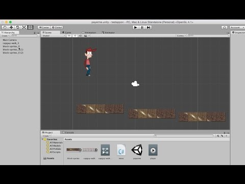 ‪5- Unity 2D||  animations and cut sprite‬‏