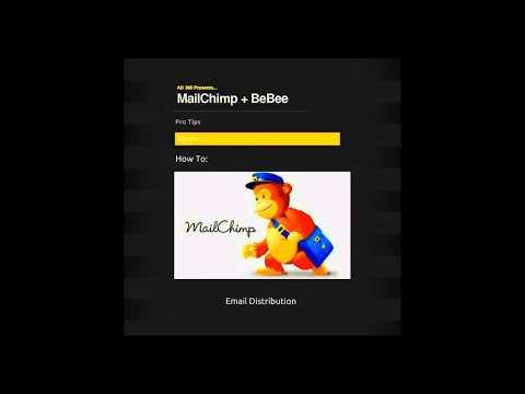 BeBee + MailChimp - The Honey Distribution Networks.