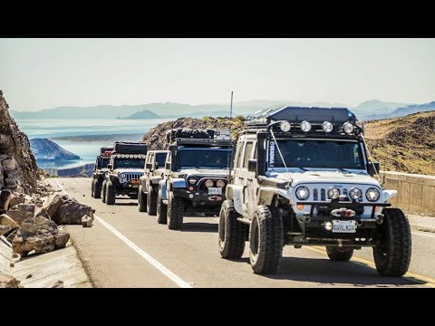Baja Overland Expedition Part 1: First Time In Mexico, Baja 1000  /// Ep 96
