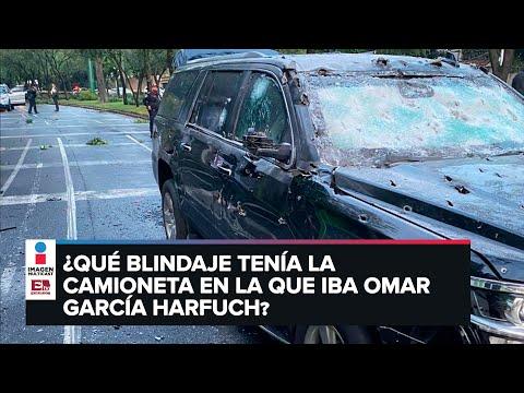 Ataque contra García Harfuch y el blindaje de la camioneta