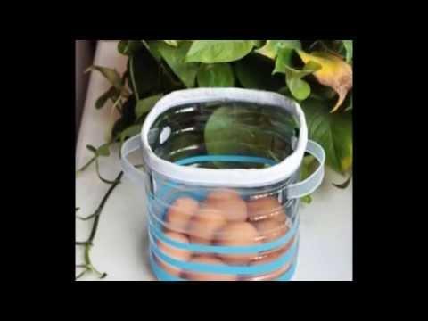Поделки из 5 литровых пластиковых бутылок