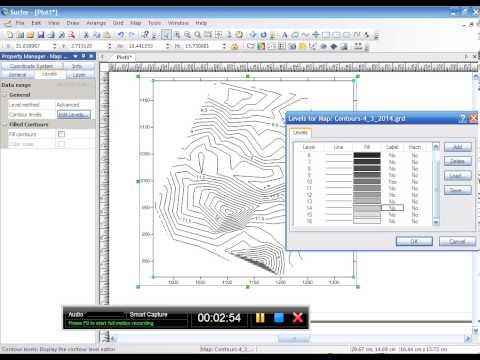 Hướng dẫn vẽ bình đồ bằng phần mềm Sufer