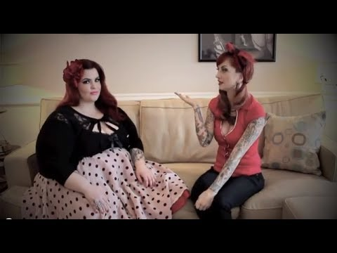 Plus Size Clothing Rockabilly Pinup Review with Tess Munster by CHERRY DOLLFACE