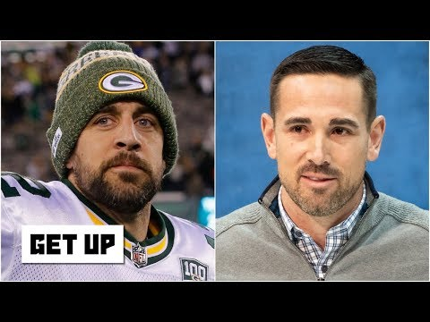 Video: Aaron Rodgers is excited about Matt LaFleur's new offense | Get Up