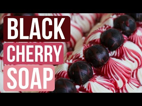Black Cherry Soap feat. Lily and my Mother | Royalty Soaps