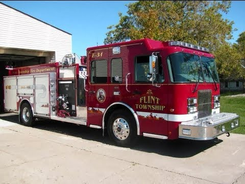 Michigan Fire Trucks Slideshow, Part 1