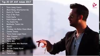 Video All time best of  Atif Aslam Latest Songs Collection 2017 MP3, 3GP, MP4, WEBM, AVI, FLV April 2018