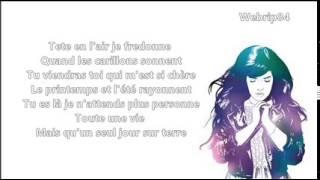 Indila - Feuille d'automne [Lyrics]