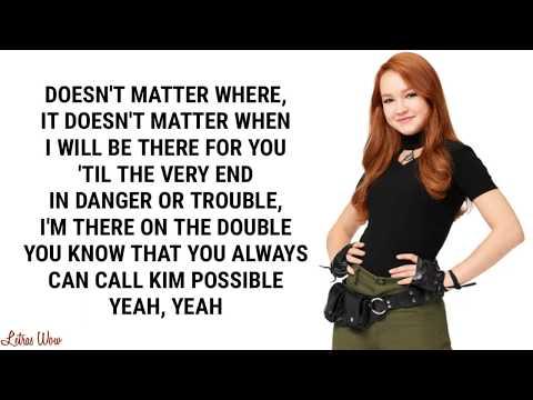 Call Me, Beep Me! (Lyric Video) | Kim Possible | Disney Channel Movie