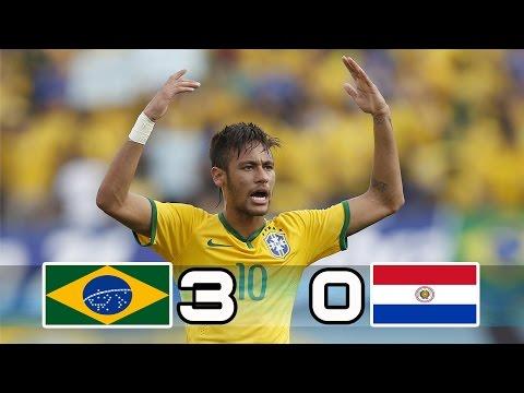 Brazil vs Paraguay 3-0  All Goals & Highlights  World Cup Qualifier 29/03/2017.Neymar jr goal