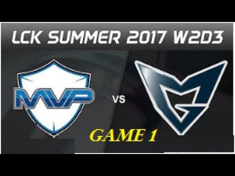 LZ vs SKT T1 Faker LCK 2017 , SKT vs LZ , LCK Summer Split , SK Telecom T1 vs Longzhu Week 7 Day 3