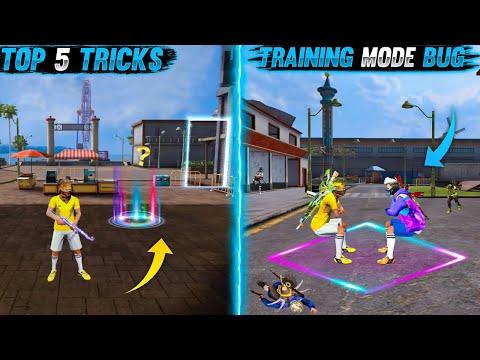 Training Mode New Bug & Tricks | Top 5 New Secret Tricks In Free Fire 2021