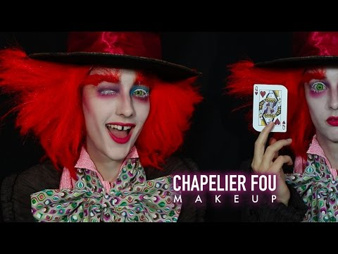 CHAPELIER FOU MAKEUP TUTORIAL HALLOWEEN - By Indy