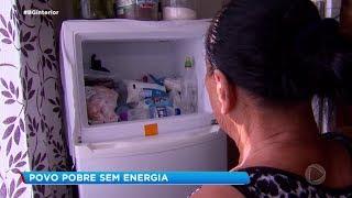 Moradores que tiveram energia desligada por falta de pagamento enfrentam dificuldades