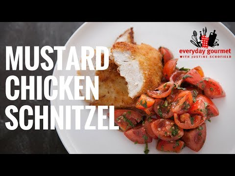 Tefal Mustard Chicken Schnitzel | Everyday Gourmet S6 E58