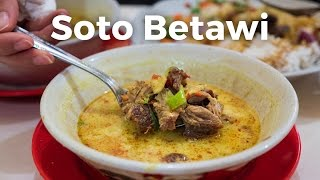 Video Soto Betawi: AMAZING Indonesian Food You Have to Eat in Jakarta, Indonesia! MP3, 3GP, MP4, WEBM, AVI, FLV Februari 2018
