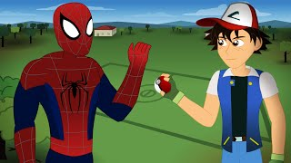 Spider-Man vs Ash Ketchum