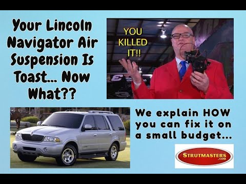 Why The Air Suspension Fails In The 2003-2006 Lincoln Navigator