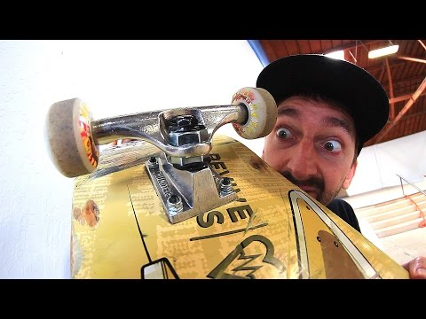 THE TIGHTEST SKATEBOARD TRUCKS IN THE WORLD?
