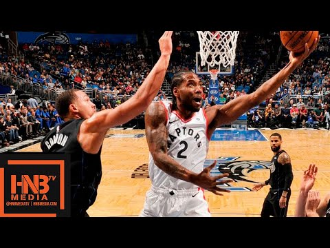 Toronto Raptors vs Orlando Magic Full Game Highlights   11.20.2018, NBA Season