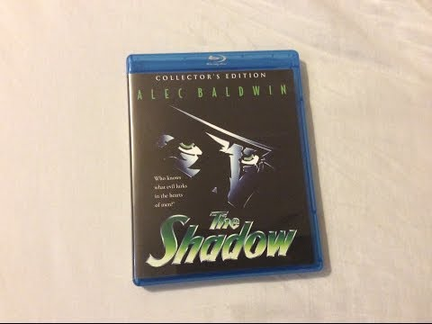 The Shadow: Collector's Edition Shout Factory (1994) - Blu Ray Review And Unboxing
