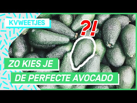 Het geheim achter de 'ready to eat' avocado! | KVWeetjes