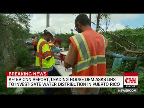 Leading Democrat calls for Puerto Rico water investigation after CNN report