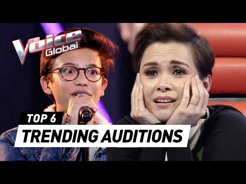 TRENDING Blind Auditions of 2020 in The Voice Kids