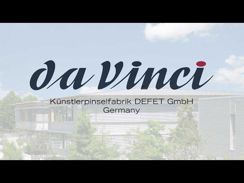 da Vinci - HIGH-QUALITY BRUSHES - Handmade in Germany