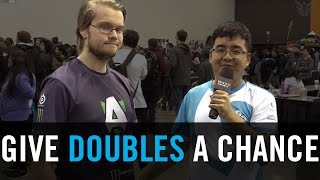 Armada wants you to play doubles: 'Give me 10 minutes and I will change your view forever'