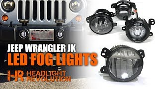 All Jeep Fog Light Upgrades here: https://headlightrevolution.com/vehicles/jeep-wrangler/jeep-wrangler-jk-2007-2017/fog-lights-and-driving-lights/The 2017+ Jeep Wrangler now comes with an optional OEM LED fog light from MOPAR made by a Chinese company called Myotek. How good is it? Are there any brighter options? How do you install it? These are a few questions we discuss in this video. JW Speaker 6145: http://bit.ly/2tqQcp1Morimoto XB: http://bit.ly/2tusNDXVision X Vortex: http://bit.ly/2sWjpaETruck-Lite 80275: http://bit.ly/2u3zF8kVision X Optimus: http://bit.ly/2tqOzI6