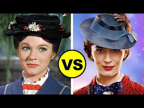 MARY POPPINS RETURNS vs Mary Poppins (1964)