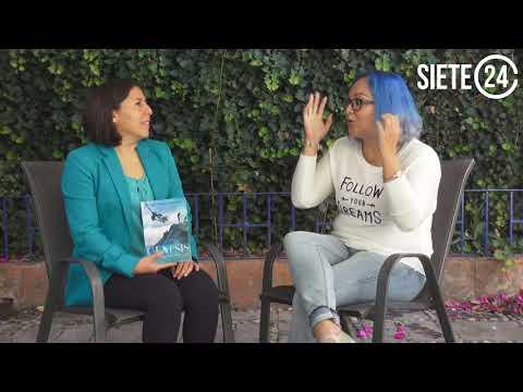 Adriana González presenta su nueva novela 'Génesis'
