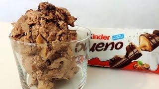 Glace Kinder Bueno-Nutella